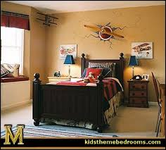 airplane bedroom themes. Exellent Themes Airplane Bed Theme Bedroom  Aviation Themed Ideas  Murals For Airplane Bedroom Themes E