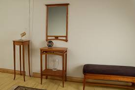 entryway furniture with mirror. shaker accent tables with daffodils entryway furniture mirror