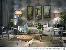 Art Deco Home Interiors  Bold Art Deco Inspired Living Room - Livingroom deco