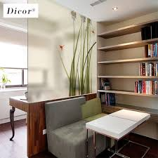 Glass Door Designs For Living Room 2019 New Stained Glass Decorative Film Chinese Style Art Home Decor For Livingroom Glass Door Waterproof Removable Decal Blt113