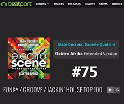 Alain Ducroix Official Website 75 Back Again In Beatport