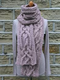 Cable Knit Scarf Pattern Amazing Cable Knit Scarf Teslaroadtripme