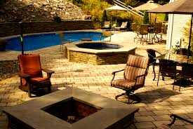 Diy Pool Waterfall Furniture Interesting Outdoor Fireplaces Fire Pits Chaffees