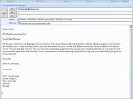 Resume Attached Email Example How To Email Resume And Cover Letter