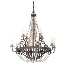 12 light chandelier savoy house bronze costco