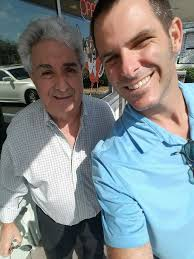 "My new friend Robert ""Bobbie"" Shapiro... - Rich Aube For Dania ..."