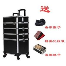 new style professional with trolley makeup box nail beautymulti universal wheel beauty makeup artist tool