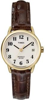 women s timex gold tone leather strap watch t20071 t200719j