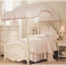 Kids Furniture. stunning girl canopy bedroom sets: girl-canopy ...