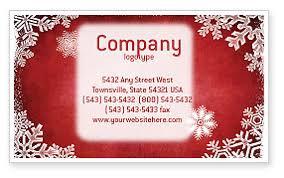Business Christmas Card Template Christmas Theme Business Card Template Layout Download