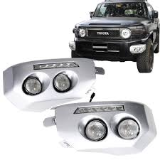 Fj Cruiser Fog Lights Oem Amazon Com Daytime Running Lights Fits 2007 2014 Fj Cruiser
