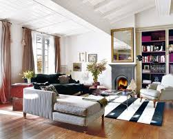 Modern French Living Room Decor French Ethnic Style Apartment Ideas Charming Design In Barcelona