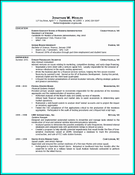 Resume Template College Student Floating Cityorg