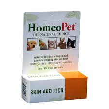 HomeoPet Skin Itch Relief Dog Cat Homeopathic