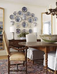 asheville textured plates farmhouse dining room wall decor ideas farmhouse x25 dining