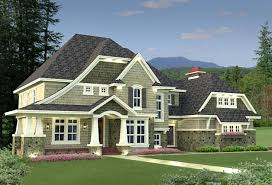 Architectural Designs Com Plan 14589rk 4 Bedroom Shingle Style Stunner