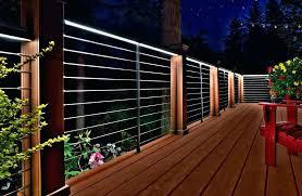 outdoor deck lighting deck lighting led strip lights outdoor led