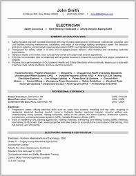 Electrician Resume Fascinating Examples Of Electrician Resumes Apprentice Electrician Resume
