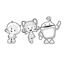 Umizoomi Coloring Pages Printable At Getcoloringscom Free