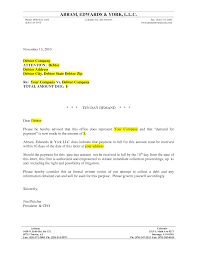 Best Photos Of Formal Letter Of Demand Legal Demand Letter