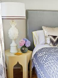 Cover Headboard With Fabric How To Upholster A No Sew Headboard Hgtv