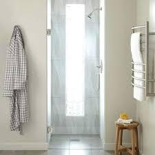 shower door brushed nickel frameless sliding cost