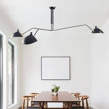 Aliexpress Com Nordic Ceiling Lamp 3 Arm 6 Serge Mouille Lights Duckbill  Replica Rotating Dining Room