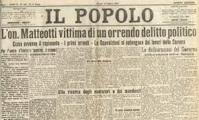 16/8/1924: viene ritrovato il cadavere di Matteotti