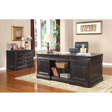 grand style home office. Enchanting House Grand Manor Home Office Double Pedestal Executive Desk 3 The Simple Stores Furniture Desks Style T