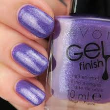 Avon Lak Na Nehty S Gelovým Efektem Lavender Shimmer