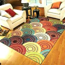 solid color round rugs multi colored rug bright area fashionable wayfair coloured