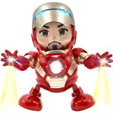 First Fly Gallery Marvel Avengers Iron Man <b>Dancing Robot Action</b> ...
