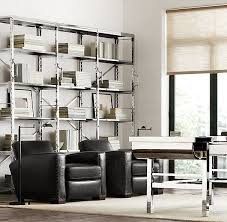 restoration hardware office. restoration hardware french library bookcase replica w polished stainless steel for the home pinterest shelving and office