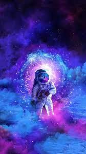 Galaxy art, Astronaut wallpaper ...