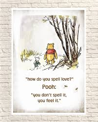 Winnie The Pooh Print Classic Pooh Pooh Wall Art Pooh Art Prints Piglet Piglet Quotes Pooh Nursery Art Birthday Gift Christmas Gift