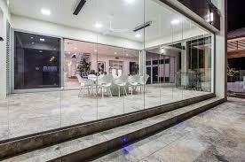 coastal glass glazing retractable glass curtains supply installation