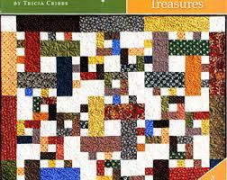 Big Block Quilt Pattern, Big and Tall, Fat Quarter Friendly Throw ... & HOPE CHEST TREASURES Quilt Pattern - Book 9 Fat Quarter Friendly By:Tricia  Cribbs / Turning Twenty Adamdwight.com