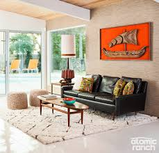 chic living room. Clean And Deliberate, This Room On The Cover Of Our Palm Springs Issue Blends Textures, Colors Kitsch Classic Tiki Look With Space Chic Living N