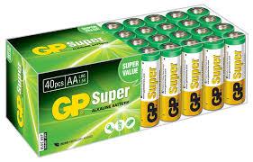 Купить <b>AA Батарейка</b> GP Super Alkaline 15A LR6 в интернет ...