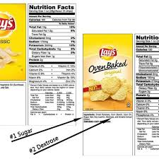 evolve nutrition food labels 101 part 2 interate tutorial for nutrition label for lays potato chips