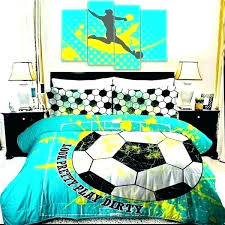 soccer bedding twin soccer sheet set twin