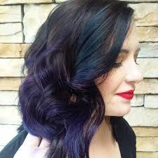 Cool красивое мелирование на черные волосы