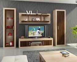 wall cabinets living room furniture. Living Room Furniture Set 4 \u0027\u0027Verin\u0027\u0027 Including: TV Cabinet, Storage Wall Cabinets