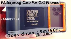 <b>Shellbox Waterproof</b> Cell Phone <b>case</b>, 50 feet limit! Unboxing ...