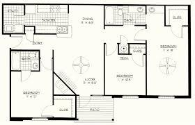 3 bedroom floor plans. Exellent Bedroom Simple 3 Bedroom Floor Plans 3bedroom Plan Throughout
