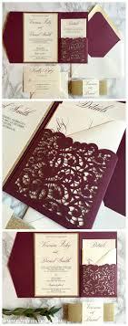 Best 25 Laser Cut Invitation Ideas On Pinterest Laser Cut Lace Wedding Invitation Design Rose Gold Delicate