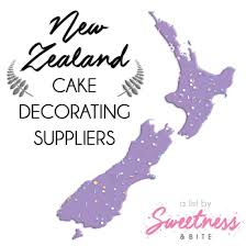 new zealand cake decorating suppliers sweetness bite