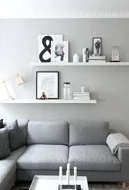 shelves in the room floating shelves in the lounge room get the look with floating shelves