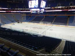 Keybank Arena Buffalo Seating Chart Keybank Center View From Club Level 205 Vivid Seats