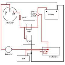 craftsman riding mower electrical diagram wiring diagram alternator charging system
